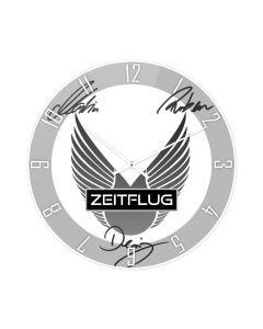 ZEITFLUG Signature-Wanduhr (35 cm Durchmesser)